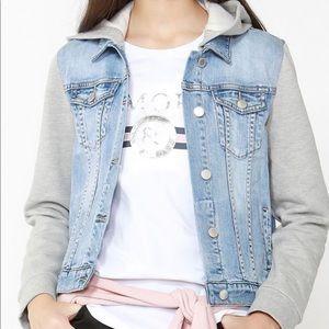 Esprit edc Hooded Denim Jacket